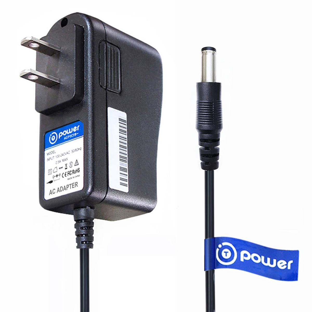 T-Power Ac adapter for Cyclops Sirius 250 500 , CYC-S250 CYC-X500H Lumen Handheld Spotlight w/6 LED Lights Charger Power supply