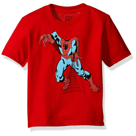 Spider-Man Toddler Boy Headless Superhero Short Sleeve - Superhero Spandex Shirts