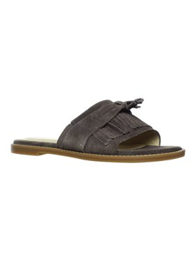de96f777a35 Product Image Hush Puppies Womens Keely Chrissie Dark Brown Slides Size 6.5