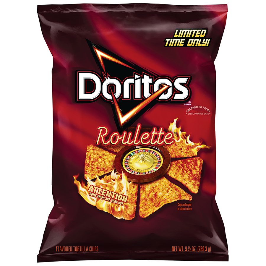 When did the russian roulette dorito come out poker stake starting with a