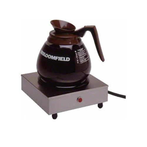 7 1//2 Width Bloomfield 8851S Coffee Warmer 1-Station 3 Height Stainless Steel 7 1//2 Depth