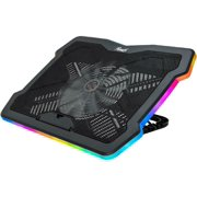 Rosewill 17 inch RGB Gaming Laptop Cooler with Big Quiet Fan. Adjustable Color/Lighting/Fan Speed Modes