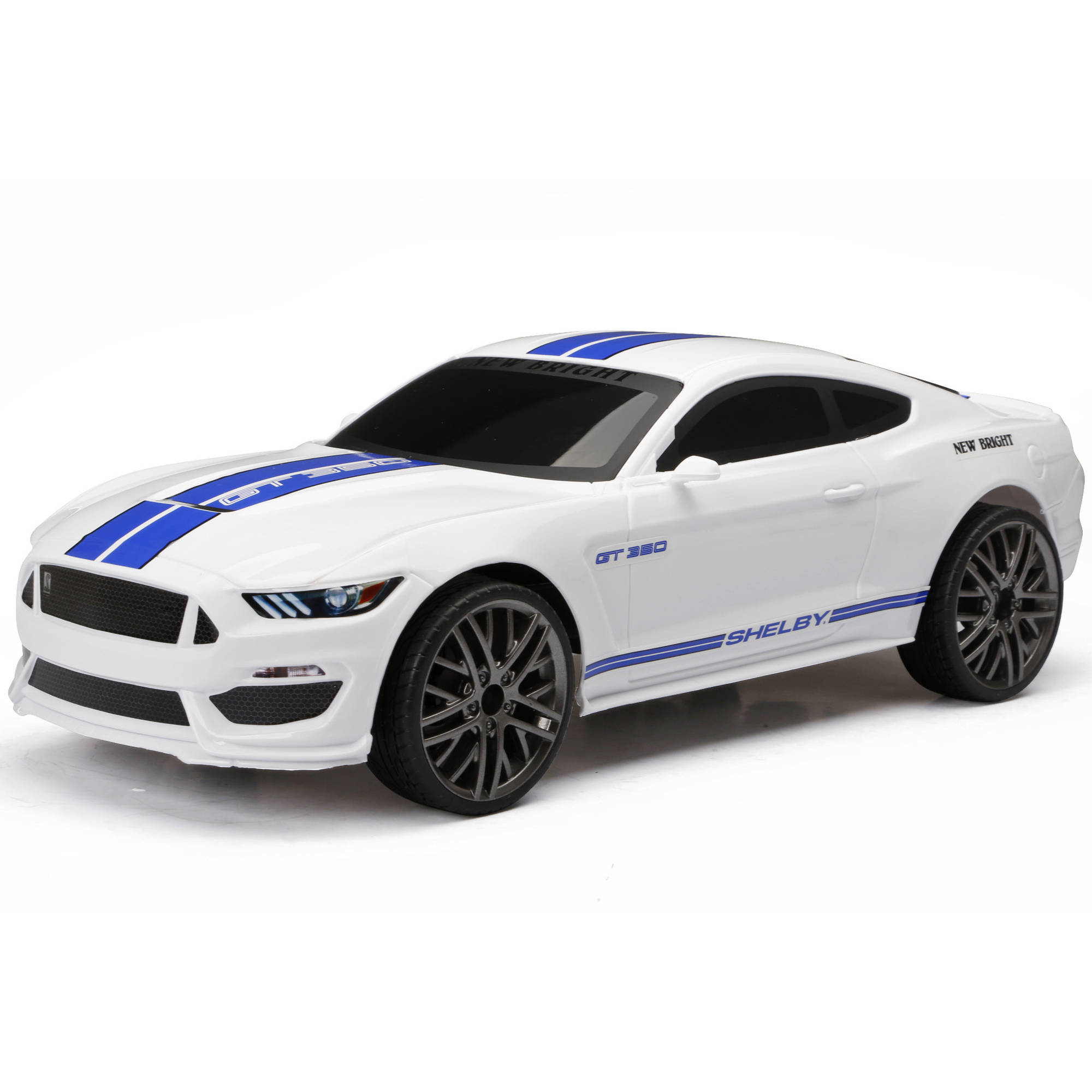 New Bright 1:12 Full-Function Mustang R/C Car - Walmart.com