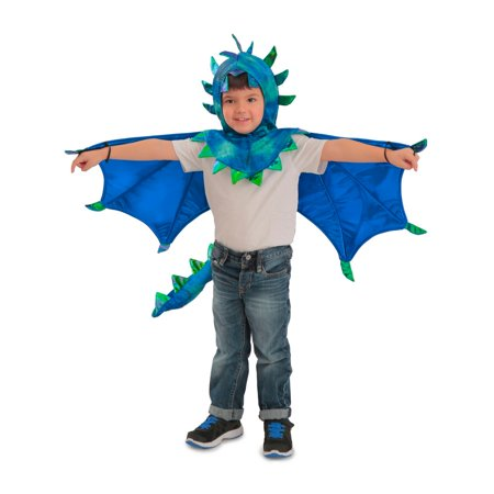Sully Costume For Kids (Halloween Child Hooded Sully Dragon)