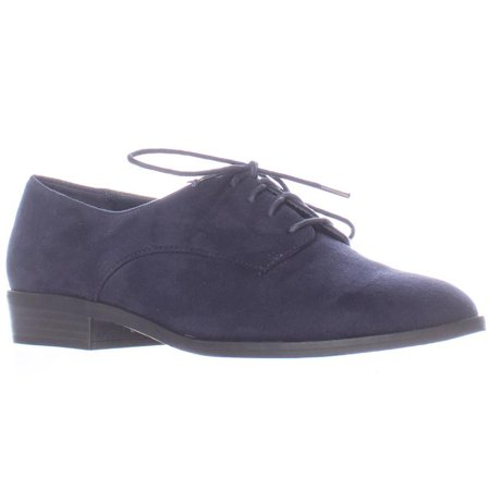Womens Bar Iii Gelsey Lace Up Oxfords   Navy