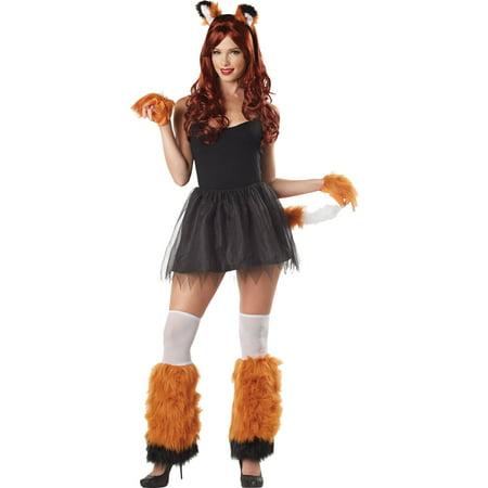 Fox 4-Piece Kit Adult Halloween Accessory