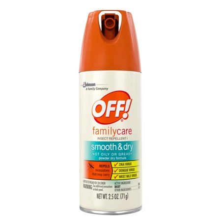 Off  Familycare Smooth   Dry Insect Repellent  2 5 Oz