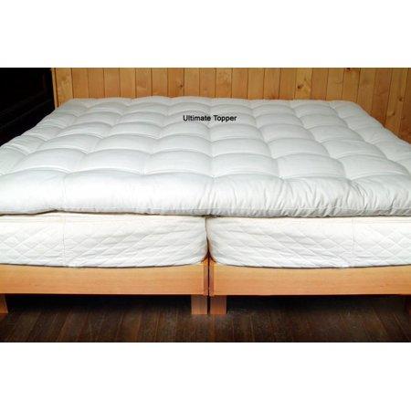 Holy Lamb Organics Certified Organic Cotton & Eco Wool Ultimate Deep Sleep Mattress