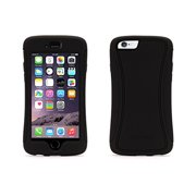 Griffin Survivor Slim For Iphone 6 - Iphone - Black - Curved Textured - Smooth - Polycarbonate, Silicone (gb39089)