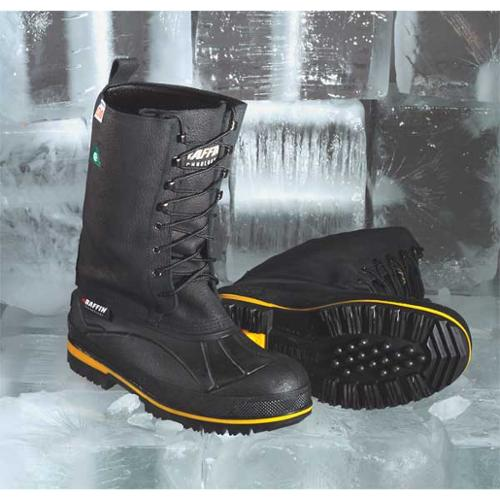 BAFFIN 9857-0998-001-9 Winter Boots,Mens,9,Lace,Steel,1PR