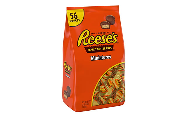 REESE'S Peanut Butter Cups Miniatures, 56 oz