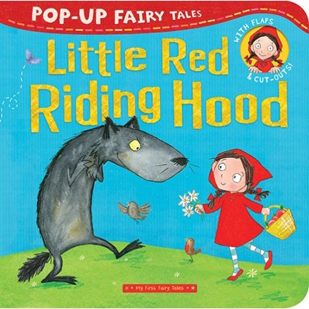 Little Red Riding Hood Pop-Up (Board Book) - The Original Little Red Riding Hood