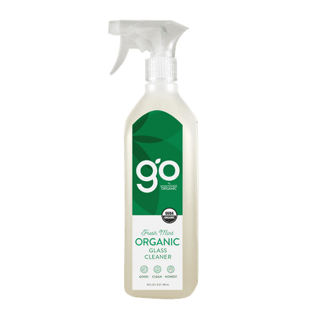 (2 pack) GO by greenshield organic 26oz Glass Cleaner, Fresh -