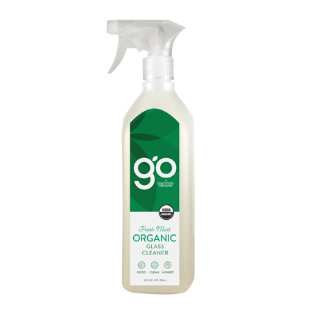 Colors That Go With Mint Green ((2 pack) GO by greenshield organic 26oz Glass Cleaner, Fresh)