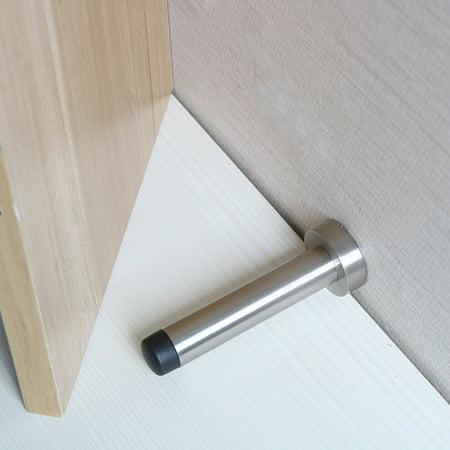 Home Office Zinc Alloy Base Door Stop Doorstop Stopper Catch Holder 150 x 33mm Rigid Base Door Stop