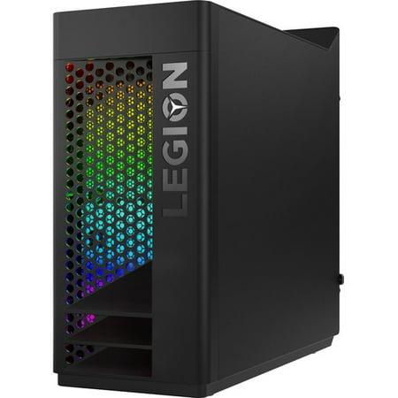 Lenovo Legion T730-28ICO 90JF00AWUS Gaming Desktop Computer - Core i9 i9-9900K - 32 GB RAM - 1 TB SSD -
