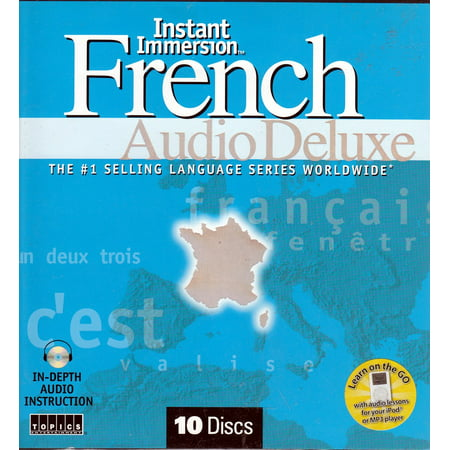 Instant Immersion French Audio Deluxe 10 CDs