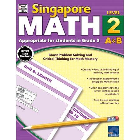 Singapore Math, Grade 3 (Halloween Jobs Singapore)