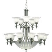 Dolan Designs 668 15+5 Light Up / Down Lighting Chandelier From The Richland Collection