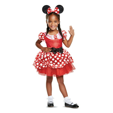 Red Minnie Mouse Toddler Classic Costume