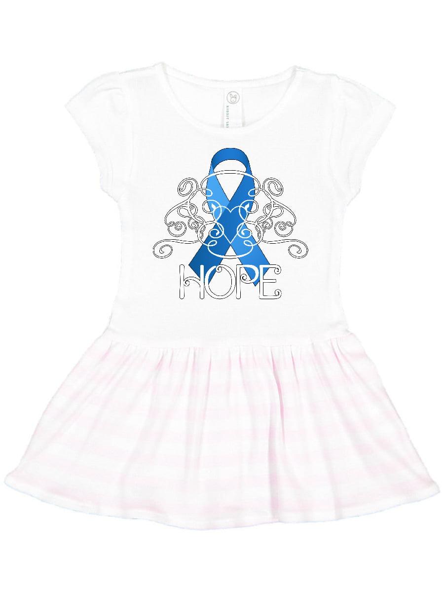 Hope Colon Cancer Awareness Toddler Dress Walmart Com