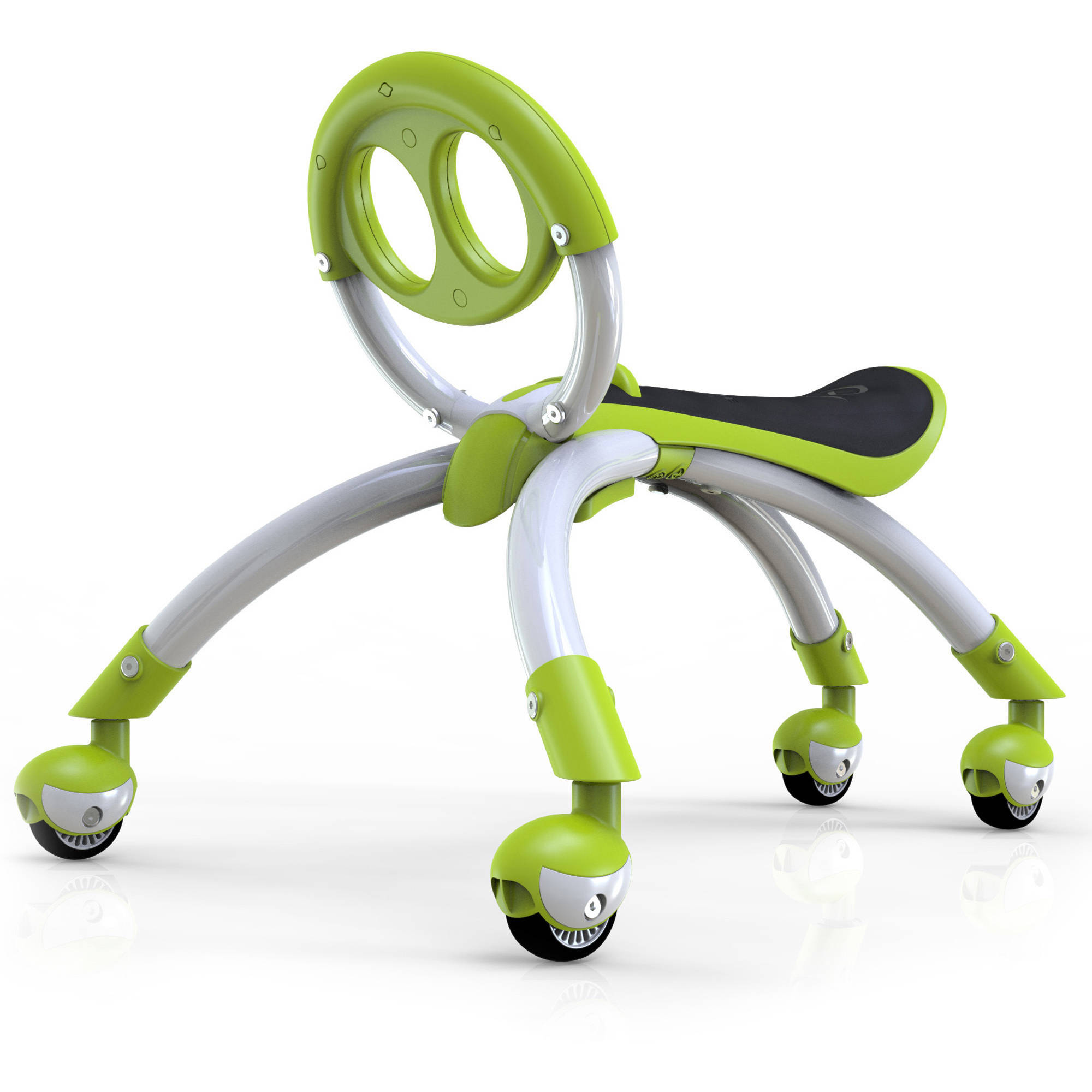 YBIKE Pewi Elite Todder Ride-On and Walking Buddy, Green
