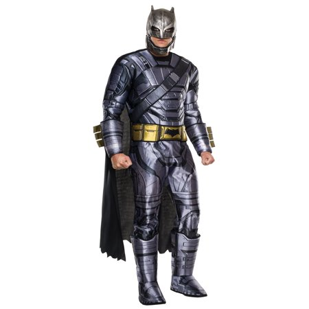 Adult Batman V Superman: Dawn of Justice- Deluxe Batman Armored Costume (Batman Onesies For Adults)