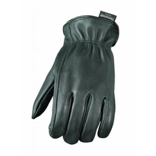 Camoplast BCS-701-XXL Mossi Mens Lined Deerskin Glove 2Xlarge Black