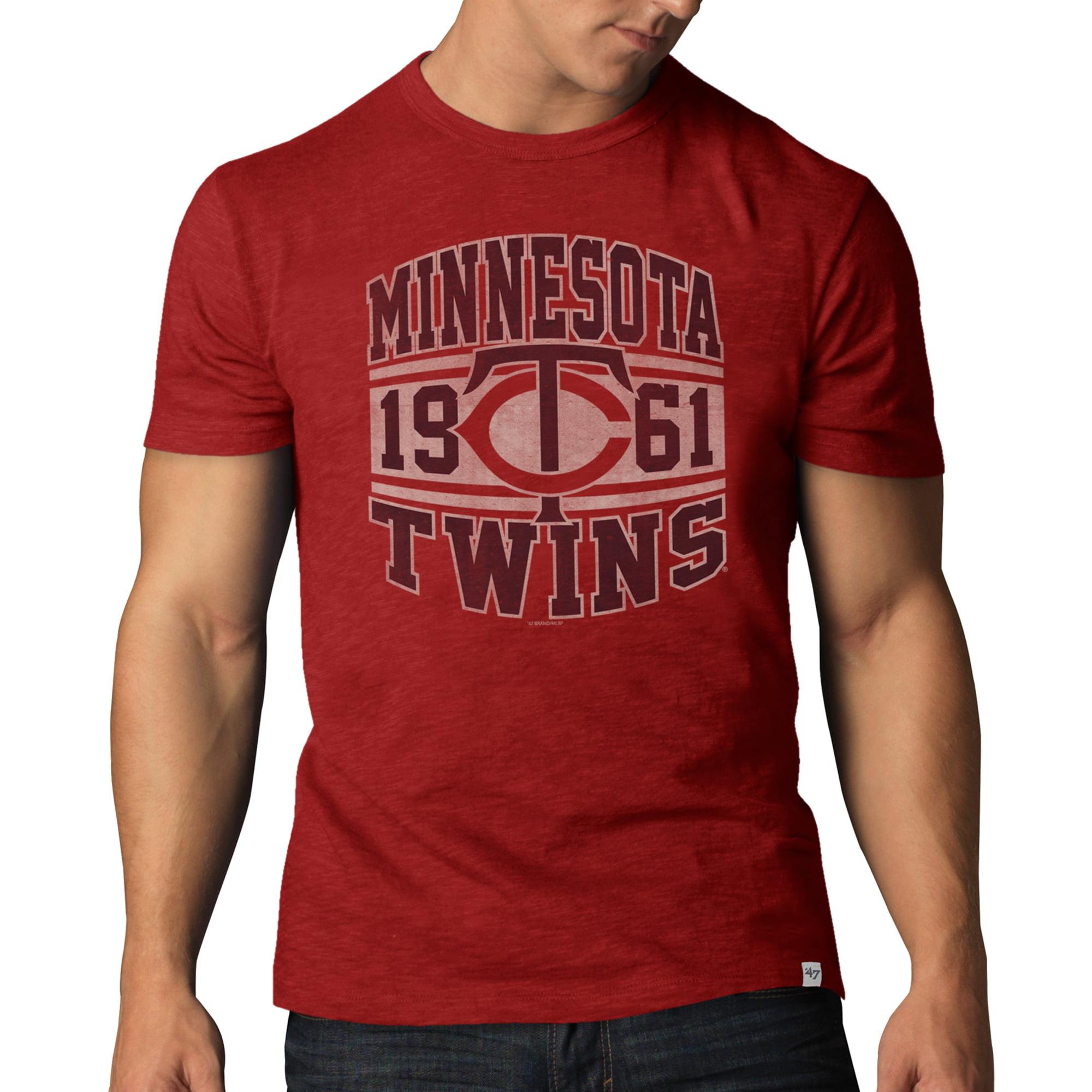 Minnesota Twins '47 Basic Scrum T-Shirt - Red