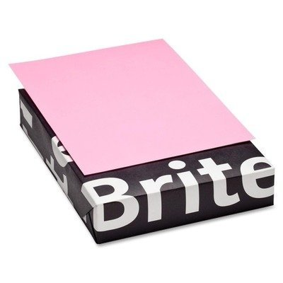 Mohawk Britehue 8.5 x 11 Pink Paper 20lb Smooth Writing 500/Ream (10131-1) - Punk Mohawk