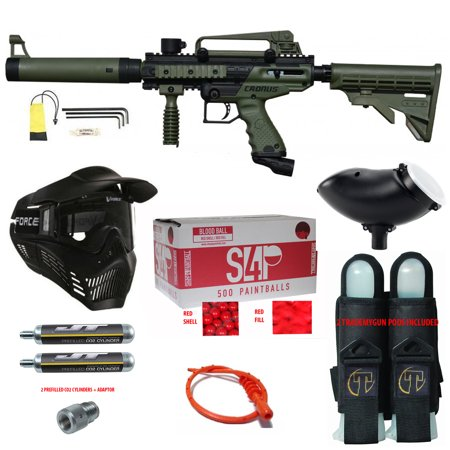 Tippmann Cronus .68 CAL Paintball Gun Kit - Ready Play Package ()