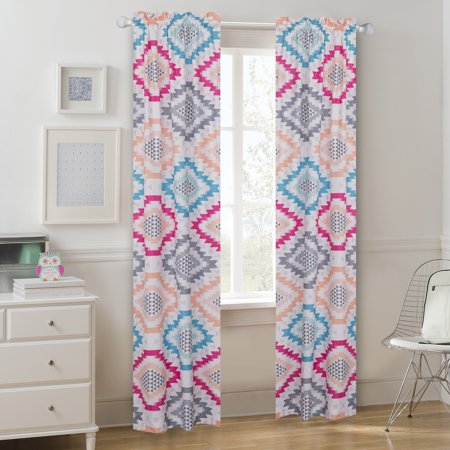 Mainstays Aztec Prism Window Curtain Panel Pair