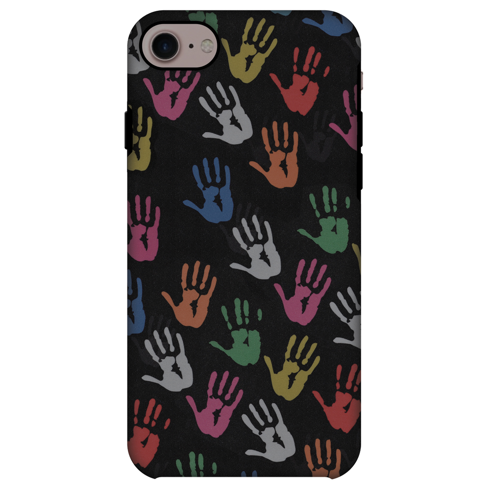 iPhone 8 ShockProof Case, Premium Handcrafted Printed Designer Dual Layer Case Back Cover for iPhone 8 - Colour Palms