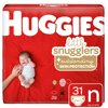 Huggies Little Snugglers Baby Diapers, Size Newborn, 31 Ct, Jumbo Pack