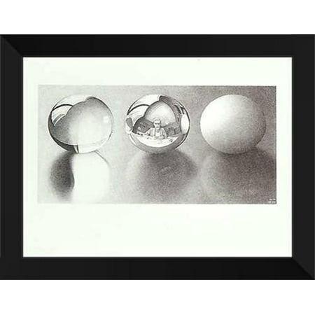 Three Spheres II 24x32 Framed Art Print by M.C.
