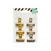 American Crafts Heidi Swapp  Clips, 6 ea