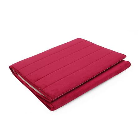 160x50CM Non-Slip Back Soft And Long Memory Foam Mat 100% Cashmere Coral Bathroom Bedroom Bath Mat Shower Door Mat Red  - image 1 de 8