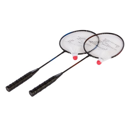 EastPoint Sports 2-Player Badminton Racket Set with 2