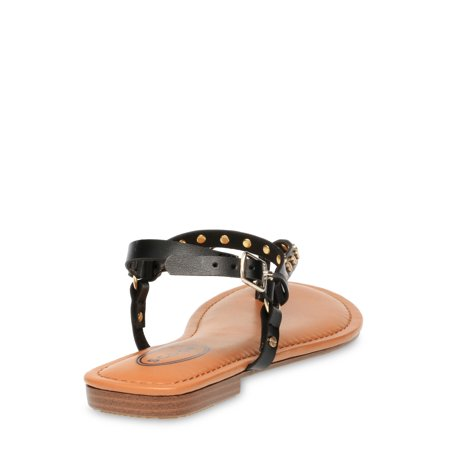 Scoop Women's Nora Studded Strappy Thong Sandals