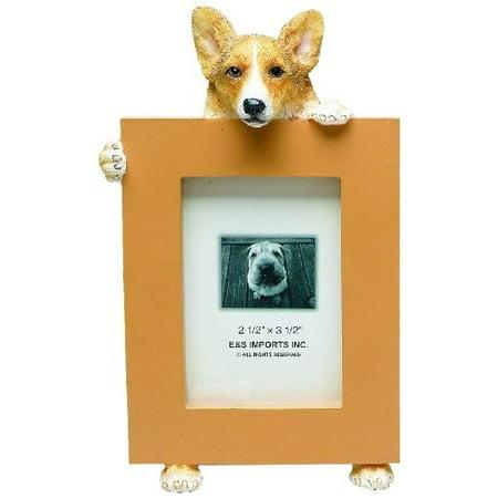 E&S Pets Welsh Corgi Picture Frame (Set of 2)