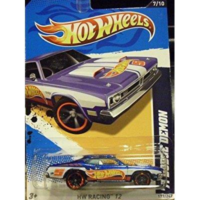 Hot Wheels 1971 Dodge Demon 177 247 No  7 Of 10 In Series Hw Racing 12