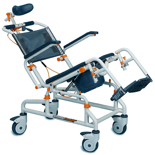 ShowerBuddy Roll-in Buddy with Tilt Chair