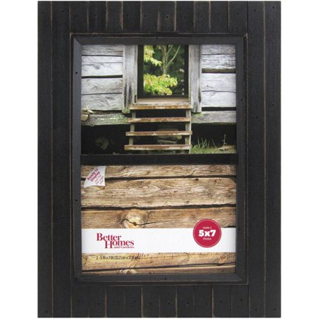 Better Homes And Gardens Timbermound 2 Opening 5x7 Distressed Black