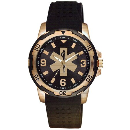 EMT Nylon and Brass Watch