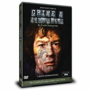 Crime & Punishment Masterpiece Theatre Miniseries 3 DVDs by