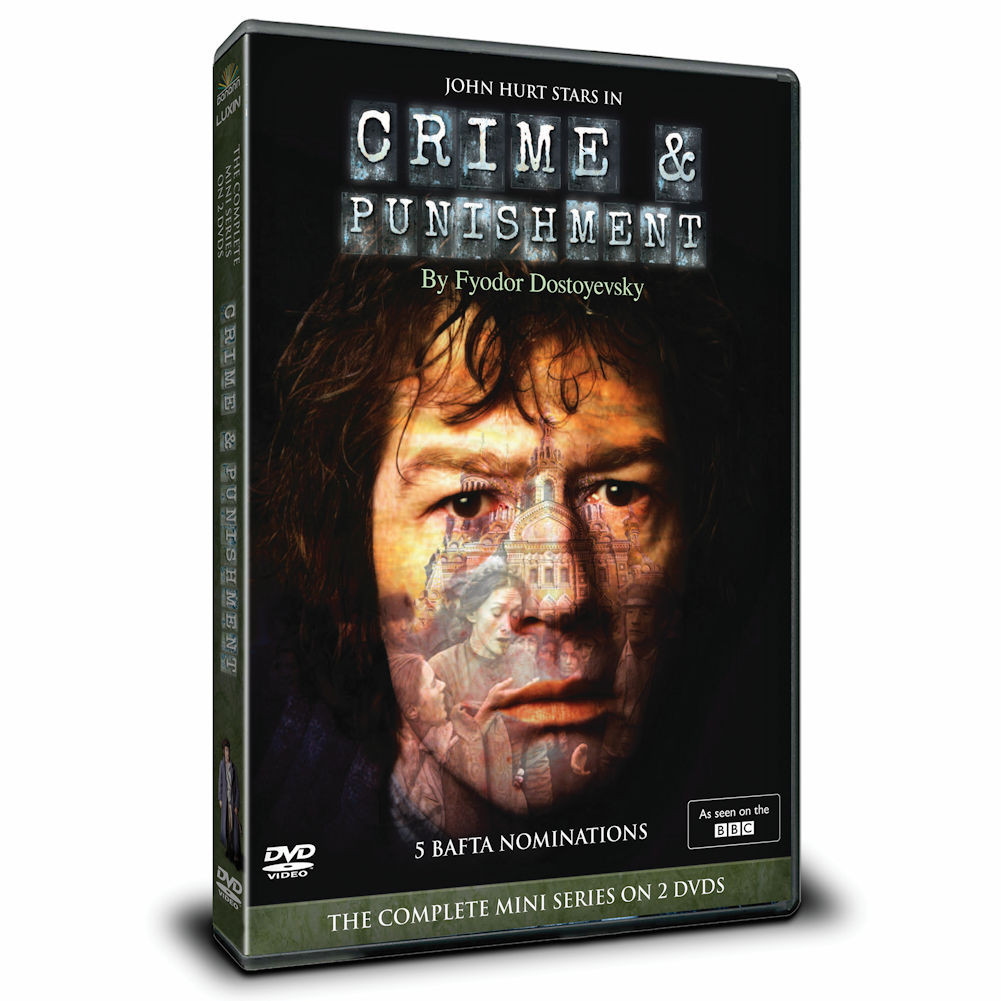Crime & Punishment - Masterpiece Theatre Miniseries - 3 DVDs