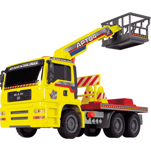 Dickie Toys Truck with Crane Arm