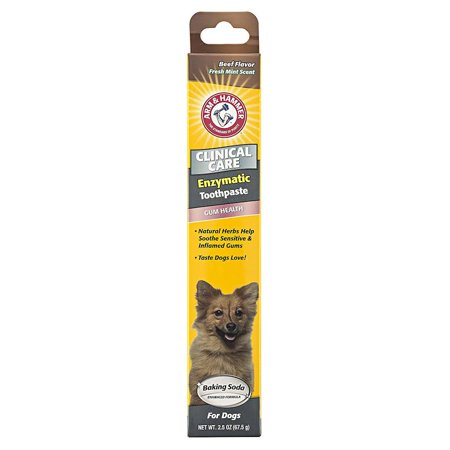 Arm & Hammer Clinical Care Gum Health Enzymatic Toothpaste for Dogs in Beef