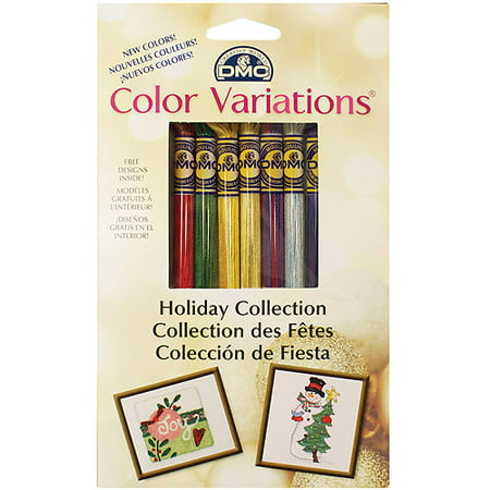 DMC Color Variations Floss Pack, Holiday 8/pkg