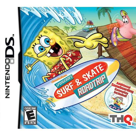SPONGEBOB SURF AND SKATE NDS ()